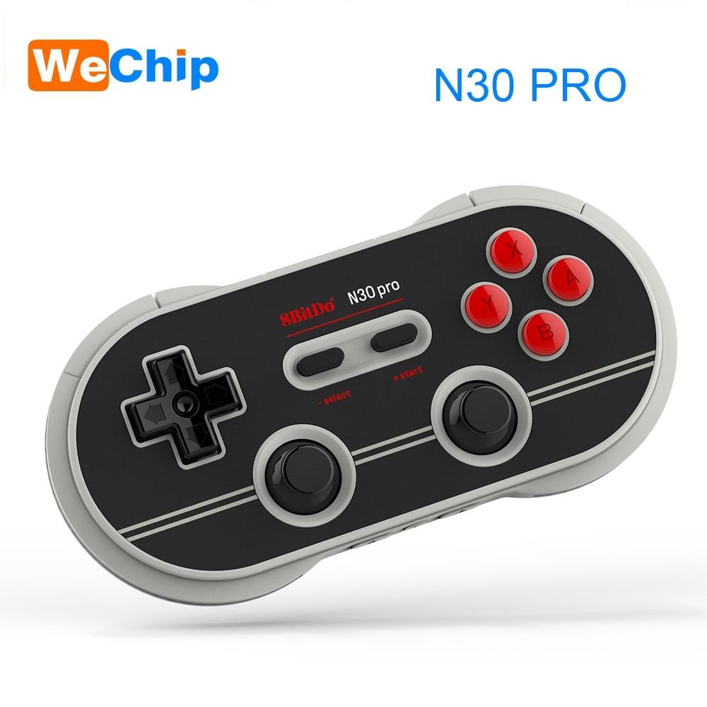 8bitdo N30 Pro 2 Contrôleur Sans Fil de Bluetooth Double Joystick Classique Pc pour Android SNES Gamepad Contrôleur de Jeu PC Commutateur macOS