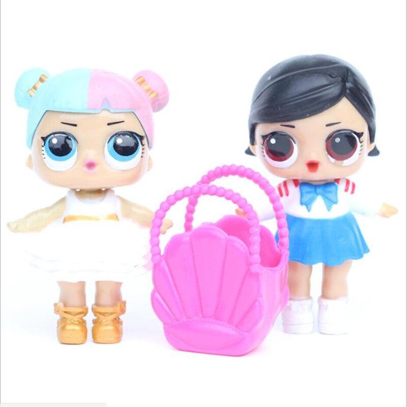 6 unids / lote LoL Desembalaje Muñecas de alta calidad Lol Dolls - Muñecas y accesorios - foto 5