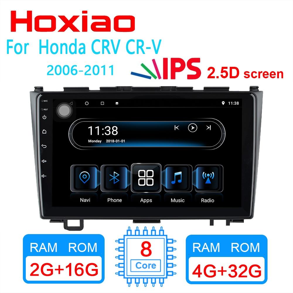 4G 2GRAM For Honda CRV 2006 2011 9 inch 1024 600 screen Car Android radio gps