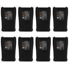 8 шт запасной литий ионный аккумулятор для рации baofeng 37