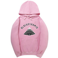 Newest Chris Brown BLACK PYRAMID Hip Hop Hoodies Men And Women Sweatshirts Skateboard Street Style Cotton