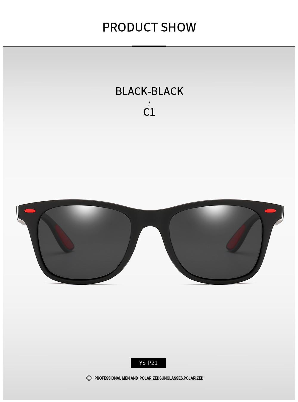 DJXFZLO Gafas de sol polarizadas 9