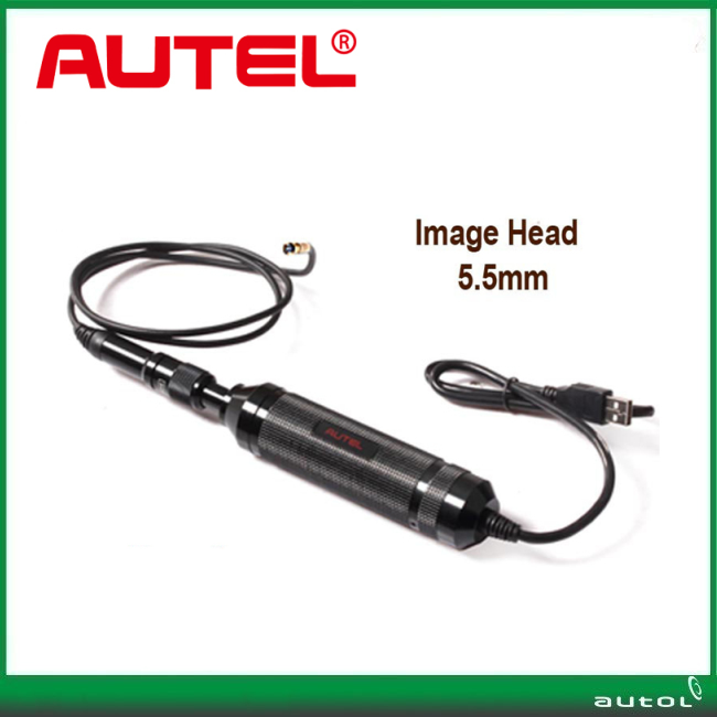 Autel MaxiVideo MV105 5.5mm Digital Videoscope Imager for MaxiSys Tablet Kit Car Diagnostic Tool Scanner MV 105 autel md802 maxidiag elite md802 all system scanner tool red black