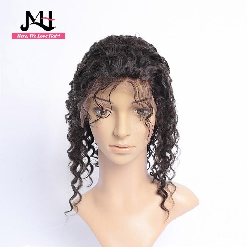 Brazilian Lace Front Human Hair Wigs Deep Wave Wig 13x4 Remy Bob Wig For Black Women