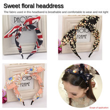 Fashion Bow Knot Small Fresh Hairband Headband Head Wrap Hair Accessories for Women Turban Hair band Girls Accessories new newborn flowers print floral butterfly bow hairband turban knot for women girls headband hair band accessories