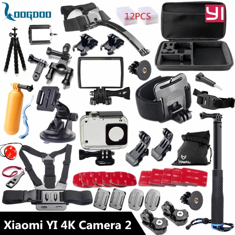Prix pour Loogdoo pour xiaomi yi 4 k accessoires selfie manfrotto bâton poulpe trépied pour xiaomi yi camera action 2 ii tz27