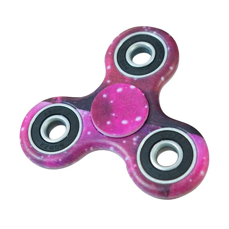 2017 Sale Fidget Spinner Hand Spinner Stress ReliverTri-Spinner Fidget Hand Spinner Camouflage Multi-Color EDC Focus Toys B0507D