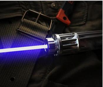 AAA High power blue laser pointers 200w 2000000m 450nm Flashlight lazer cannon burning match/burn black light cigars+5 star caps