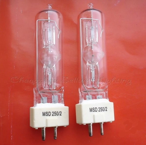 2 Pcs Neue Msd 250 W/2 90 V Moving Bühne Licht Msd250/2 Lampe Birne 250 Watt Gute Begleiter FüR Kinder Sowie Erwachsene