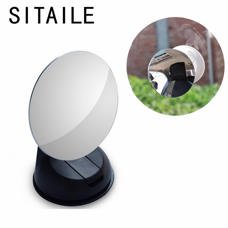 SITAILE Car Interior Mirror Car Rear Auto Back Seat View Mirror High Coverage Baby Child Safety Watch with Sucker Fixed