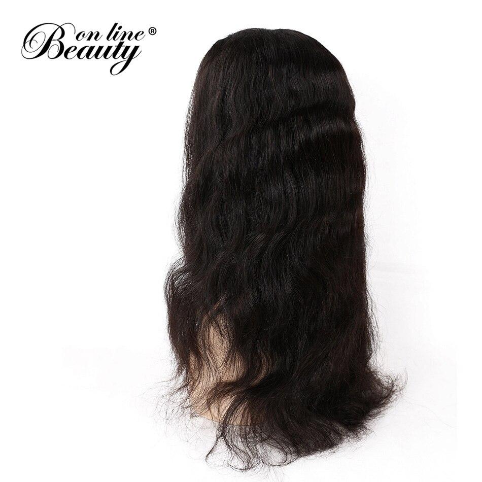 Красота на линии Синтетические волосы на кружеве человеческих волос парики с ребенком волос предварительно сорвал Реми бразильский орган ...