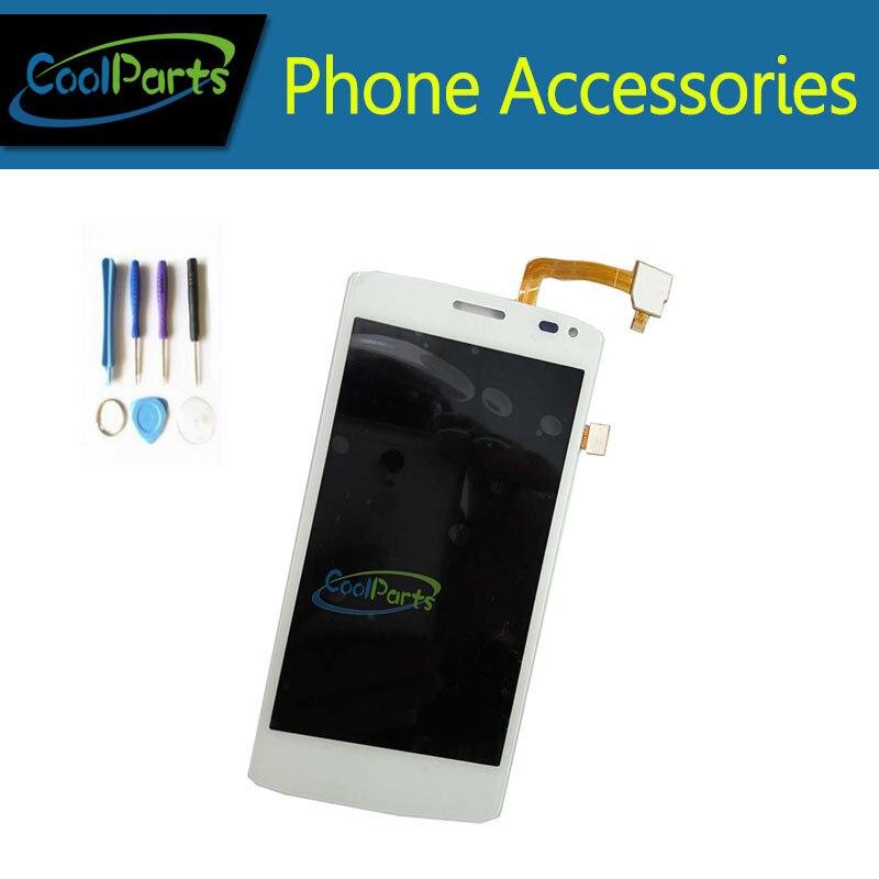 imágenes para 1 PC/Lot de Alta Calidad de Color Blanco Para Fly IQ4417 LCD Pantalla Y Pantalla Táctil de piezas de Repuesto con Herramientas