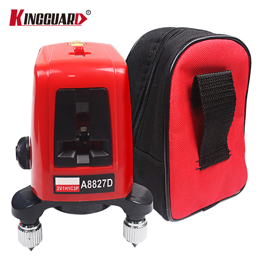 A8827D 360 Degree Self-leveling 3 Lines 3 Points Rotary Horizontal Vertical Red Laser Levels Cross laser Line + Laser Highlights a8827d 360 degree self leveling 3 lines 3 points rotary horizontal vertical red laser levels cross laser line laser highlights