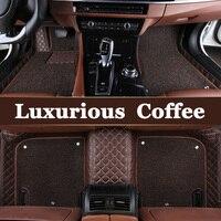 Specilly Customized car floor mats for Lexus J100 LX470 LX 470 J200 LX570 RX200T RX270 RX350 NX200 GS250 car styling carpet