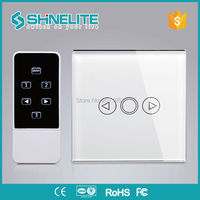 UK Wireless Touch Screen Light Dimmer Wall Switch RF433mhz Remote Controller For Livolo Broadlink Geeklink Orvibo