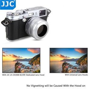 Image 4 - JJC Metal Lens Hood Screw Adapter Ring 49mm for FUJIFILM X100 FUJIFILM X100S FUJIFILM X100T Camera Replaces Fuji LH X100