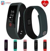 Sports Bracelet IP67 Waterproof Bluetooth Heart Rate Monitor Message Reminder Fitness Tracker Smart Watch PK Fit bit Mi band