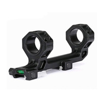 Extend Dual Ring AR15 M4 M16 Optic Defense Rifle Optical Scope Mount 1 Inch 30mm Picatinny