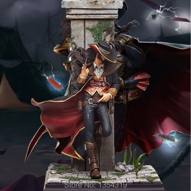 Game figure the Card Master Twisted Fate pvc action figure collectible model toy anime doll juguetes brinquedos hot toy juguetes 7 oliver jonas queen green arrow superheros joints doll action figure collectible pvc model toy for gifts