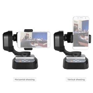 Image 5 - ZIFON YT 500 Uzaktan Kumanda Pan Tilt Otomatik Motorlu Döner Video Tripod Kafası Sabitleyici Smartphone Tripod Kafaları