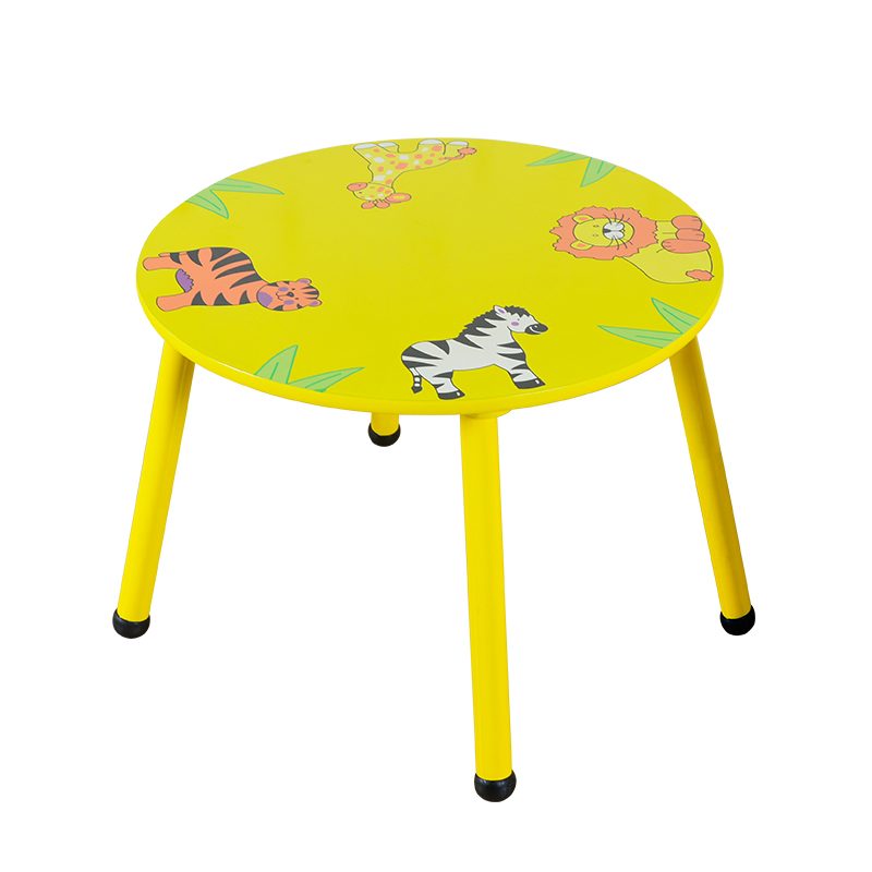 Children's Chair Baby's Stool Backrest Chair Small Stool Family Dining Cartoon Table Kids Table And Chair Toddler Kids Furniture
