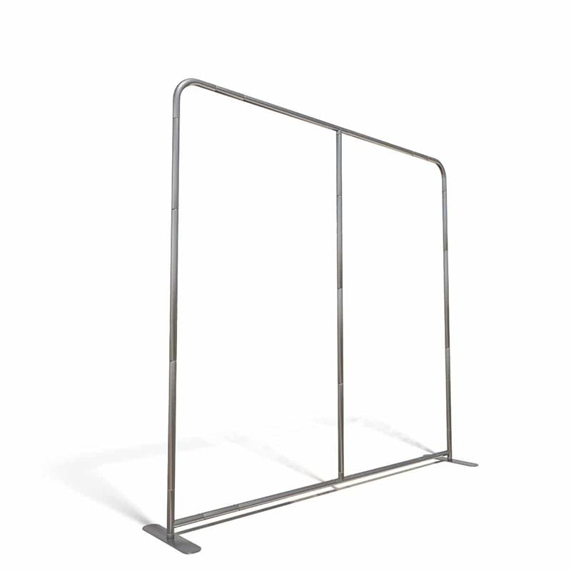 Support portable en aluminium, Style taie d'oreiller, pieds/8 pieds/10 pieds, avec pôle central, toile de fond de Stand photo