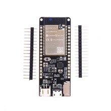 ل TTGO ESP32 WROVER B T8 V1.8 ESP32 8MB PSRAM TF بطاقة واي فاي وحدة بلوتوث مجلس التنمية