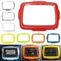 Car Dash DVD Player GPS Quadro Anel de Acabamento da Tampa Tomada ABS Plástico Para Jeep/Renegade