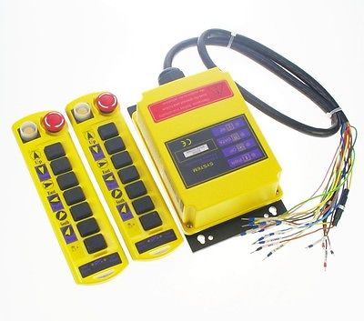 цены  Kit 12V 1 Speed Buttons Hoist Crane Radio Remote Control System Controller CE