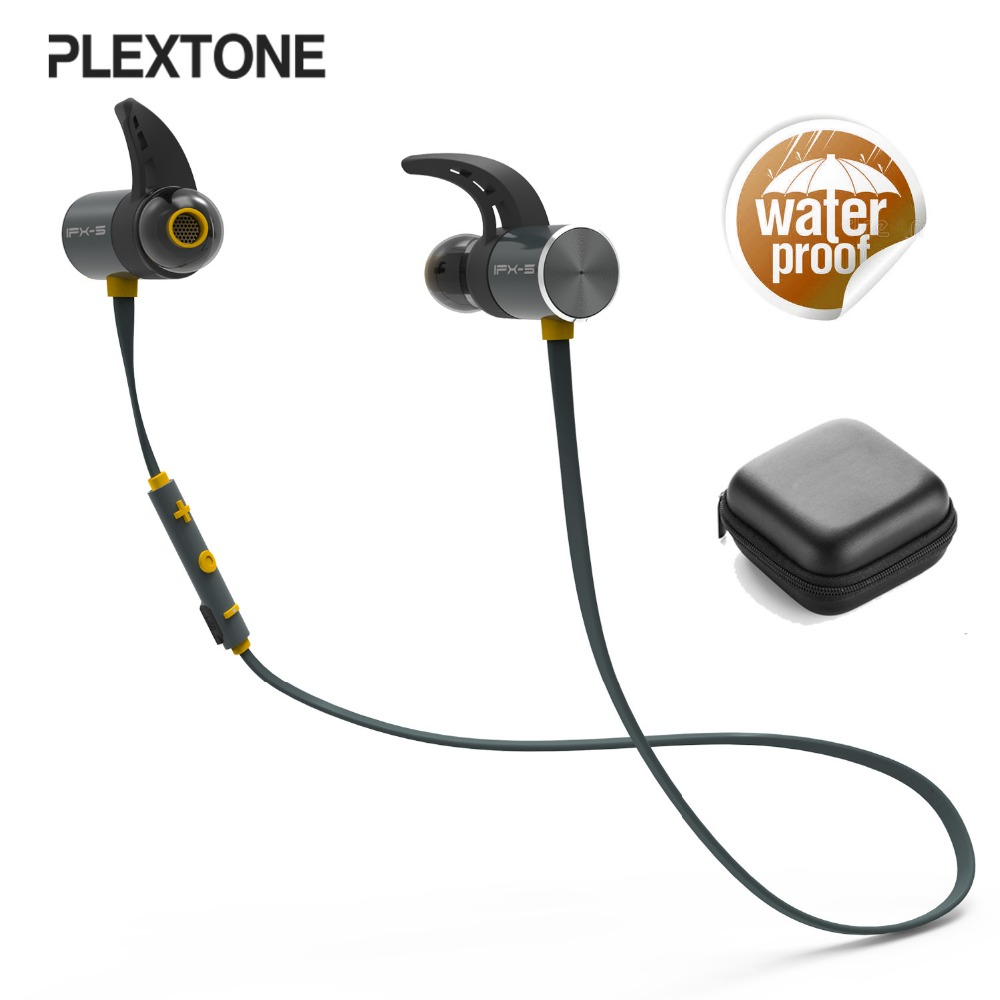 цена на Sports bluetooth earphone waterproof earphones running headset fitness mangnet earphone stereo earphone for music phone