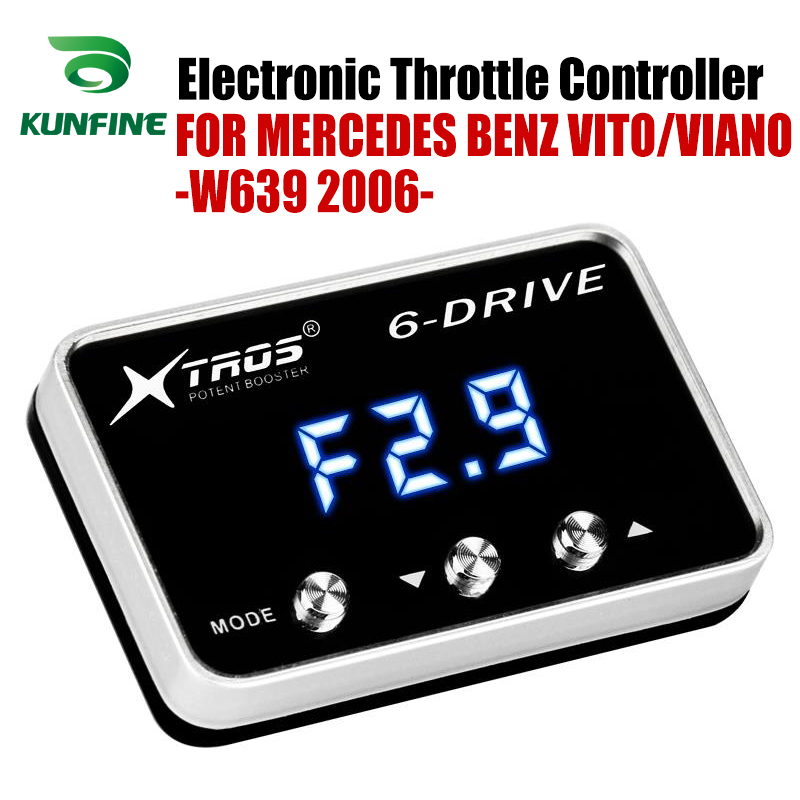 Car Electronic Throttle Controller Racing Accelerator Potent Booster For MERCEDES BENZ VITO/VIANO-W639 2006-2019 Tuning PartsCar Electronic Throttle Controller Racing Accelerator Potent Booster For MERCEDES BENZ VITO/VIANO-W639 2006-2019 Tuning Parts