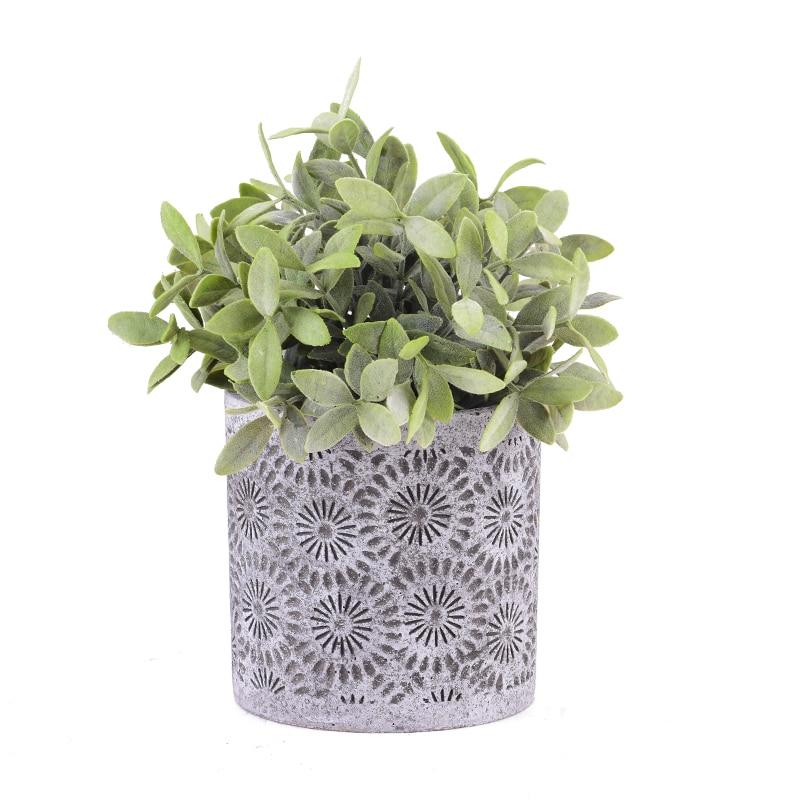 크리 에이 티브 콘크리트 화분 실리카 젤 금형 시멘트 정원 화분 금형-에서점토 몰드부터 홈 & 가든 의  그룹 1