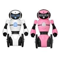 Wltoys F4 Wifi FPV APP RC Robot Control Intelligent G sensor 0.3MP Camera Smart Robot RC Toy for Children