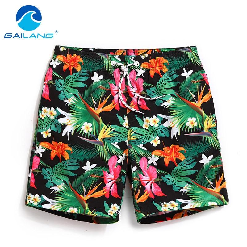 Gailang Brand Men's Quick Drying Boxers Trunks Active Man Bermudas Sweatpants Men Beach Swimwear Swimsuit Board Shorts XXXL Size