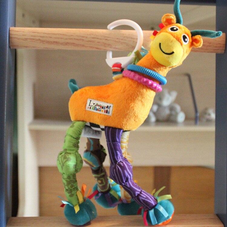 Promotion Baby Toys 0-12 Months Bebek Oyuncak W15*H36 Stuffed Plush Baby Rattles Mobiles Brinquedo Para Bebe Stroller Pram Toys