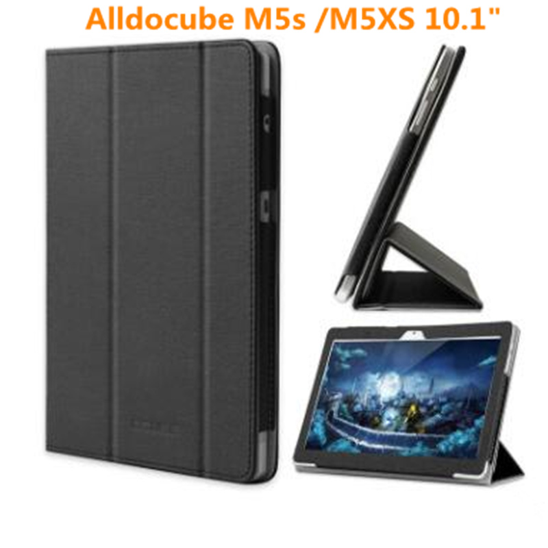 Модный защитный складной чехол-книжка из искусственной кожи для alldocube m5s/m5xs для 10,1 дюймового планшета, чехол-книжка с бесплатными подарками