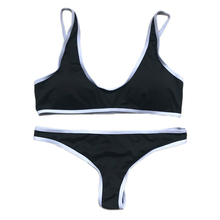 Women Sexy Bikini Bandeau Push Up Border Sport