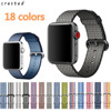 New Arrival Nylon Strap Band For Apple Watch Band 42mm 38mm Sport Bracelet Fabric Nylon Watchband