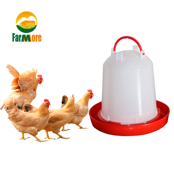 2 Pcs/Set Chicken Drinking Cups 1.5L 3L 6L Quail Chicken Bird Drinking Fountain Automatic Drinking Feeder Tool for Pigeon фото