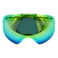 Double Layers Ski Goggles Glasses Lens UV400 Brightening Lens For Weak Light Tint Weather Cloudy For