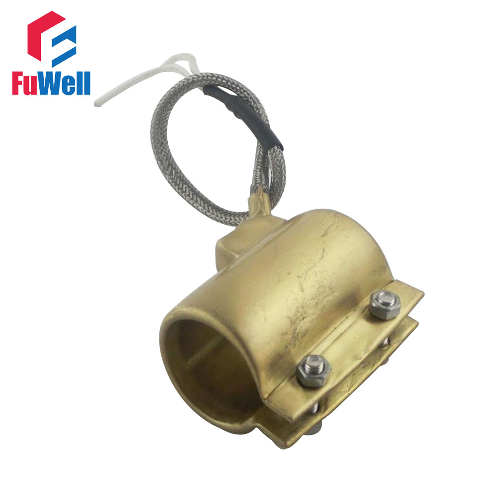 Customized Brass Band Heater 55*55mm(D*H) 220V 320W Heating Element customized welcomed ceramic band heater 150 50mm d h 220v 1100w heating element