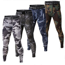 Mens compression pants bodybuilding jogger health train skinny leggings comperssion tights pants trousers garments clothes