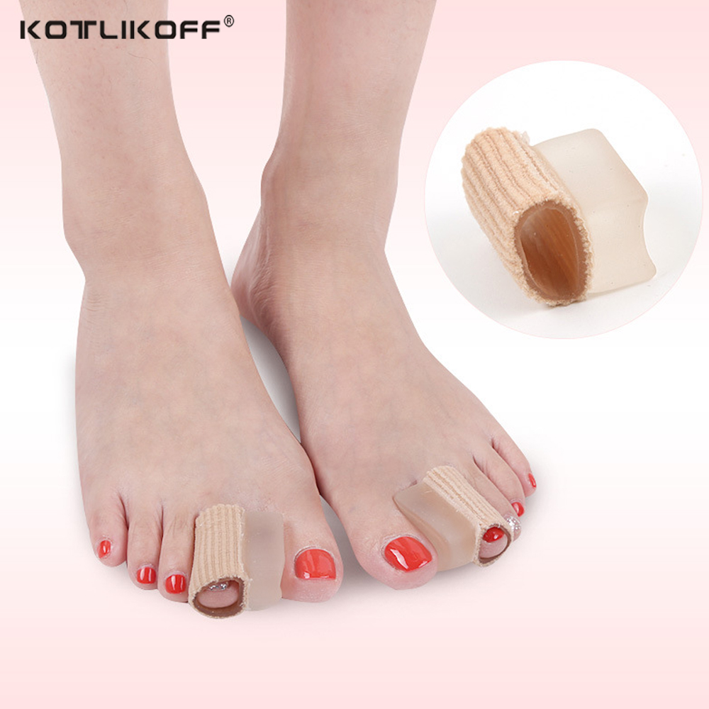 Silicone Gel Finger&Toes Protector Separator Insoles for Foot Pain Relief Cushion Bunion Hallux Valgu Overlapping Toe Corns PadsSilicone Gel Finger&Toes Protector Separator Insoles for Foot Pain Relief Cushion Bunion Hallux Valgu Overlapping Toe Corns Pads