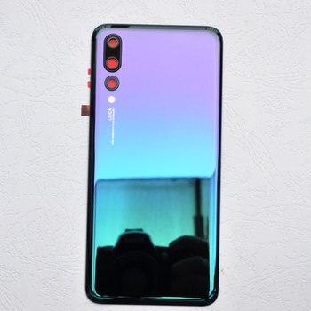 ZUCZUG 新オリジナルリアハウジング Huawei 社 P20 プロ電池カバーバックケースドア P20 プロ部品を交換