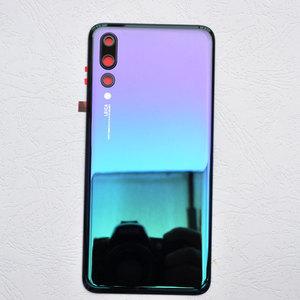 Image 1 - ZUCZUG חדש זכוכית אחורי שיכון עבור Huawei P20 פרו סוללה כיסוי חזרה מקרה P20 פרו Задняя крышка Tylna okładka