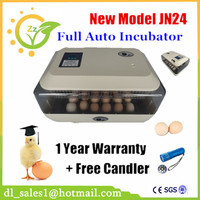 Fully Automatic Poultry Egg Incubator 24 Quail Egg Hatching Machine