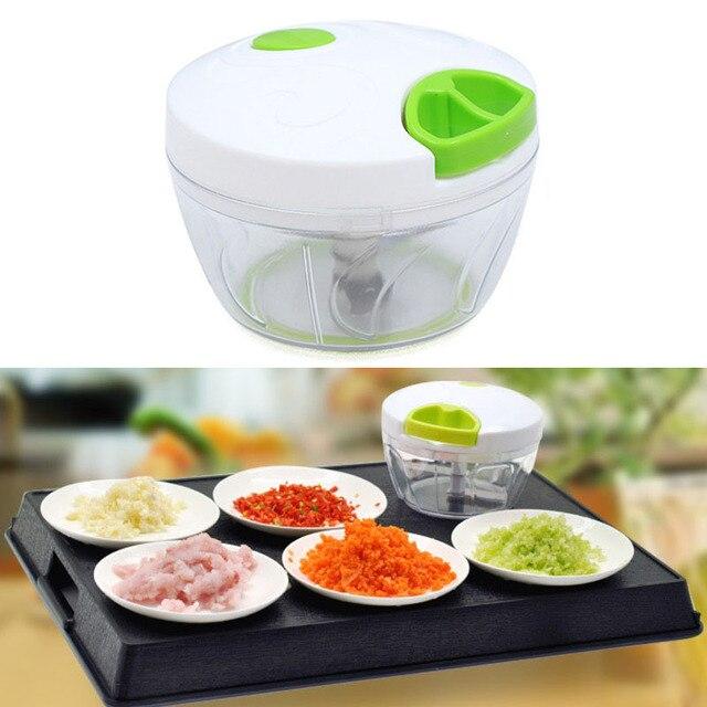 household vegetable chopper food shredder meat grinder blender pull rope cutter multifunction manual food chopper meat