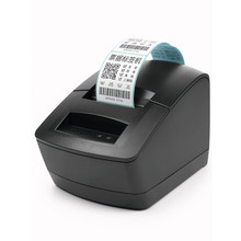 NEW Bar code thermal printer clothing  goods price Qr code food label adhesive sticker label printer retail receipt printer wholesale label sticker receipt printer barcode qr code pos printer xp 365b support 80mm width printing print speed is very fast