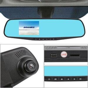 Image 5 - AOSHIKE 3.5 Pouces Tactile HD 720 P Voiture Rétroviseur Enregistreur Enregistrement Unique Affichage De Voiture DVR Véhicule Caméra TFT LCD avec GPS
