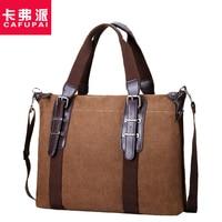 New Casual Vintage Canvas Design Men's bag Handbag Large Capacity Travel bags Korean Style Durable Male Shoulder Messenger bags